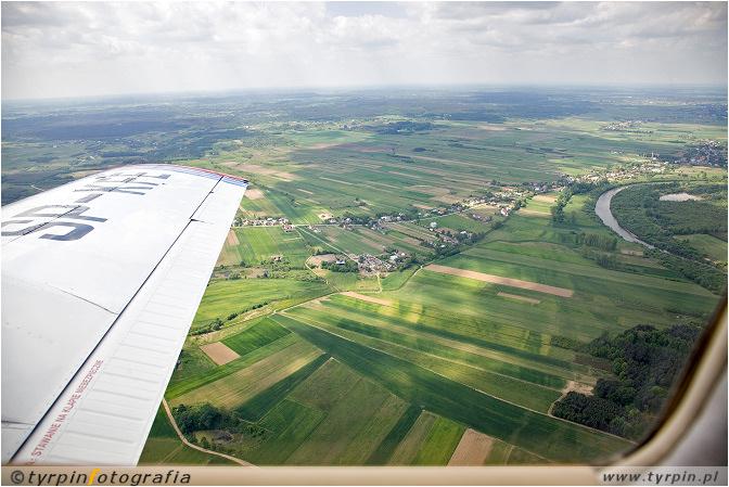Wisłoka w okolicach Rzemienia i Przecławia