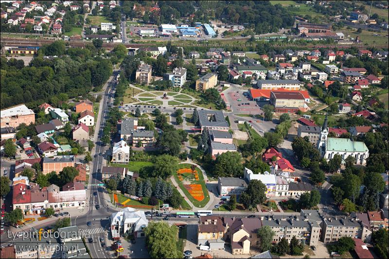Skrzyżownie ulic Kościuszki i Rzeszowskiej