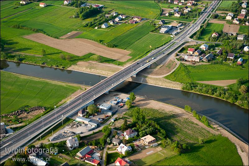 Most pomiędzy Pilznem i Parkoszem - droga A4