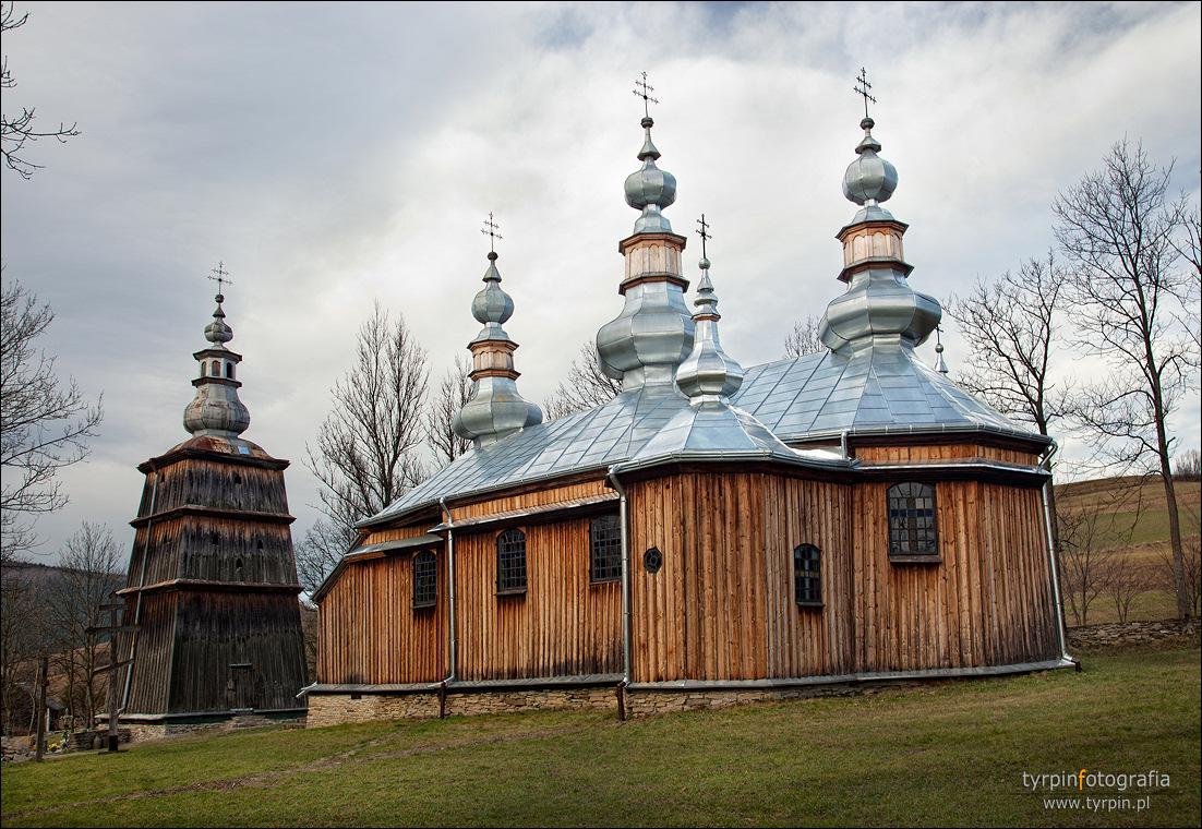 Turzańsk - cerkiew św. Michała Archanioła z 1801 roku.